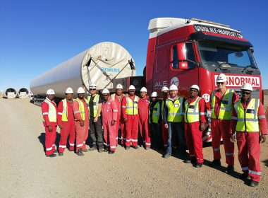 LOERIESFONTEIN WIND FARMS SUCCESSFULLY COMPLETE TURBINE TRANSPORTATION